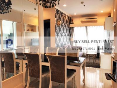 For SaleCondoWongwianyai, Charoennakor : Condo for sale, Q House, Sathorn, BTS Krung Thon Buri, 2 bedrooms, 59 sqm., Ready to move in 7.5 million