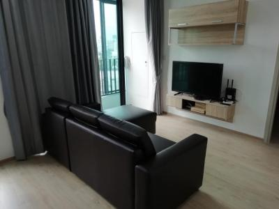 For RentCondoSiam Paragon ,Chulalongkorn,Samyan : For rent, Ideo Chula-Samyan, 2 bed 1 bath, city view, 46 sqm, size 46 sqm., 11 floor, ready to live 35,000 / month