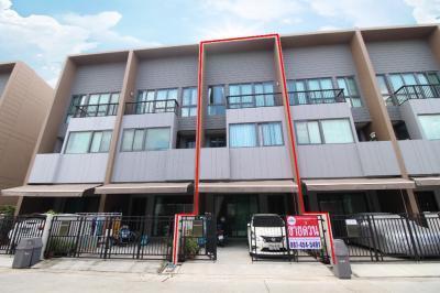 For SaleTownhouseRathburana, Suksawat : ขาย ทาวน์ โฮม บ้านกลางเมือง สาทร สุขสวัสดิ์ 18.1 ตร.ว. บ้านตกแต่งพร้อม ทำเลดี หน้าบ้านโล่ง ราคาถูกมาก
