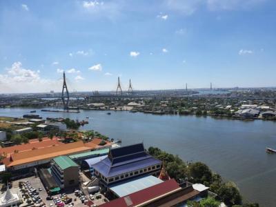เช่าคอนโดพระราม 3 สาธุประดิษฐ์ : ให้เช่า คอนโดยูดีไลท์ เรซิเด้น ริเวอร์ฟร้อนท์ พระราม 3 ริมแม่น้ำ เจ้าพระยา วิวแม่น้ำ ครบพร้อมอยู่