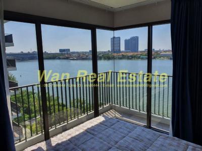 For RentCondoRattanathibet, Sanambinna : Rent politan breez 2 bedrooms, 60 sqm, 6th floor, the most beautiful position.