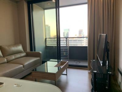 For RentCondoSilom, Saladaeng, Bangrak : M Silom pet friendly for rent 1bedroom sizing 50 sqm 32k