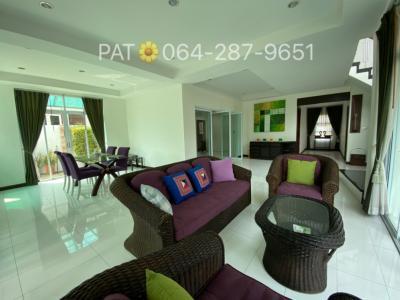 For RentHouseChonburi, Pattaya, Bangsa : ให้เช่าบ้านเดี่ยวสองชั้น ซอยเนินพลับหวาน 3 ห้องนอน, 3 ห้องน้ำ