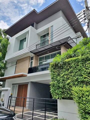 เช่าบ้านพัฒนาการ ศรีนครินทร์ : ให้เช่าบ้านเดี่ยว 3 ชั้นหมู่บ้านNivana Beyond liteใกล้Airport link ทับช้าง