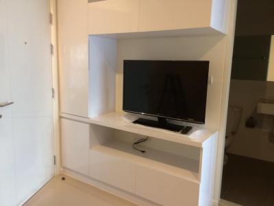 For RentCondoOnnut, Udomsuk : M1967-For rent Condo Aspire Sukhumvit48 32Sqm 8th floor 1 bedroom 1 bathroom with washing machine@11,000