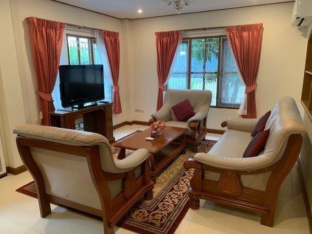 For RentHouseRamkhamhaeng,Min Buri, Romklao : 2-storey detached house for rent, every new renovated furniture, Soi Ramkhamhaeng 164, near Ruamrudee International School