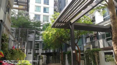 For RentCondoRatchadapisek, Huaikwang, Suttisan : Condo for rent, ready to move in, The Sek Huai Khwang-Ratchada, cheap price