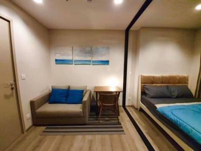 For RentCondoRattanathibet, Sanambinna : The Politan Rive condo for rent, Riverside project Near MRT Phra Nang Klao station, very high floor