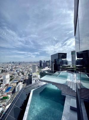 Sale DownCondoRama9, RCA, Petchaburi : There are 2 bedrooms, high floor, the view of 20 + Floor 15 million !!!