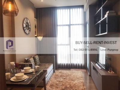 For SaleCondoSathorn, Narathiwat : Luxury condo for sale in the heart of Sathorn, The Diplomat Sathorn, next to BTS Surasak, area 42.5 sq.m., 25th floor, fully furnished, 11 million