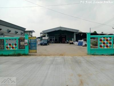 For SaleFactoryRangsit, Patumtani : Factory for sale, dark purple color, canal 9, Lam Luk Ka, 2 rai, usable area of over 800 square meters, good location, can be sold