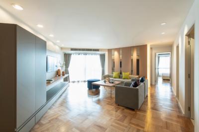 For RentCondoRama3 (Riverside),Satupadit : Bangkok Garden Apartment 2Bedroom (120 sq.m.)