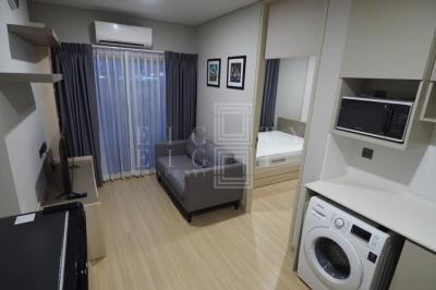 เช่าคอนโดพระราม 9 เพชรบุรีตัดใหม่ : For Rent Lumpini Suite Phetchaburi-Makkasan (28 sqm.)