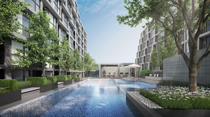 Sale DownCondoWongwianyai, Charoennakor : Condo sales down Heights Sathorn - Thon Buri near Icomsiam