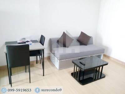 For RentCondoRama9, RCA, Petchaburi : 0078-Y😊 For RENT 1 bedroom 🚄 MRT Rama 9, just 12 minutes 🏢 Supalai Veranda Rama 9 Project