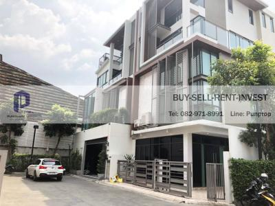 For RentHome OfficeRama3 (Riverside),Satupadit : Home office for rent, 4 and a half floors in the middle of Rama 3, Jade Height Sathorn-Rama 3 project, Yannawa Road, 43.8 sq.wah, ready to use. Price 300,000 baht / month