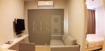 เช่าคอนโดพระราม 9 เพชรบุรีตัดใหม่ : For Rent Lumpini Suite Phetchaburi-Makkasan (27 sqm.)