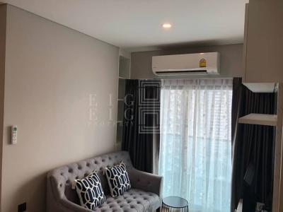 เช่าคอนโดพระราม 9 เพชรบุรีตัดใหม่ : For Rent Lumpini Suite Phetchaburi-Makkasan (40.5 sqm.)