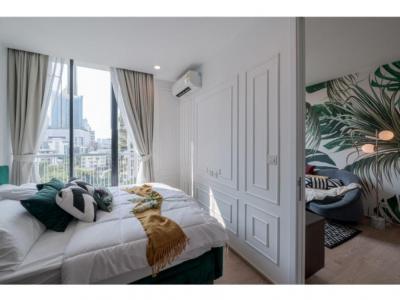 เช่าคอนโดสุขุมวิท อโศก ทองหล่อ : Noble Recole for rent 1 bed 1 bathroom size 35 sqm only 28,000 thb