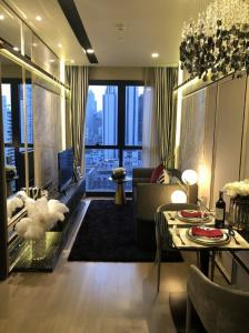 For SaleCondoSukhumvit, Asoke, Thonglor : Sold at no extra cost, Ashton Asoke, new room, only 7.69 million, the cheapest price