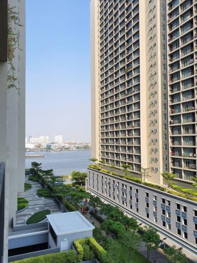 For RentCondoRathburana, Suksawat : Chapter One Modern Dutch Condo for rent, Tower A, 1 bedroom, 30 sq.m., 8th floor, fully furnished.