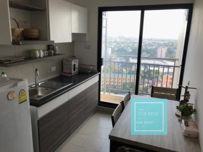 For RentCondoChengwatana, Muangthong : For rent, Supalai Loft Chaengwattana, floor 16, only 8500 baht