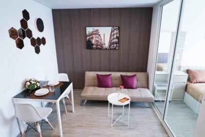 เช่าคอนโดอ่อนนุช อุดมสุข : ให้เช่าคอนโด Regent Home สุขุมวิท 97/1 ชั้น 7 แต่งครบสวย พร้อมอยู่ 28 ตรม. 9,000 บาท/เดือน
