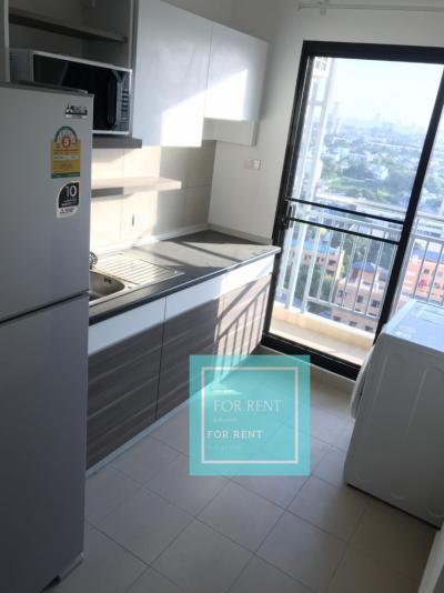 For RentCondoChengwatana, Muangthong : For rent, Supalai Loft Chaengwattana, 17th floor, only 8500 baht / month