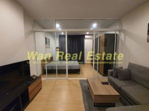 For RentCondoSathorn, Narathiwat : Condo for rent, Supalai Lite, Ratchada Narathiwat, Sathorn, size 35 sq.m., 21st floor, beautiful river view, ready to move in