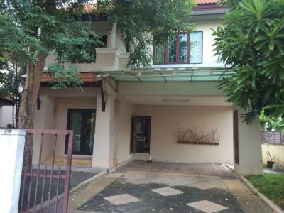 For RentHouseBang kae, Phetkasem : RH279 House for rent. Suphawan Village 5, next to The Mall Bang Khae, near the train station