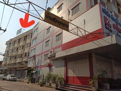 ขายตึกแถว อาคารพาณิชย์แจ้งวัฒนะ เมืองทอง : ขาย/ ให้เช่า 15,000 อาคารพาณิชย์ 4ชั้นครึ่ง ปากซอยบ้านสวนกุหลาบ 18 ตรว 140 ตรมเหมาะทำการค้า Home Office สอนพิเศษ