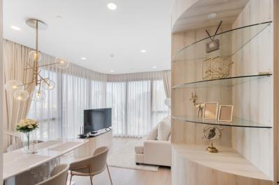 For SaleCondoSiam Paragon ,Chulalongkorn,Samyan : +++ Urgent sale, very beautiful room - ASHTON Chula Silom ** 2 bedrooms, 55 sqm, fully furnished, ready to move in