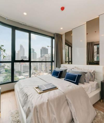 For SaleCondoRatchathewi,Phayathai : Urgent! Cheapest price! The last room. 2 bedrooms, 2 bathrooms. Ideo Q Chidlom, 63 sqm. Price 9.5 million baht, Floor 20+, contact 0869017364