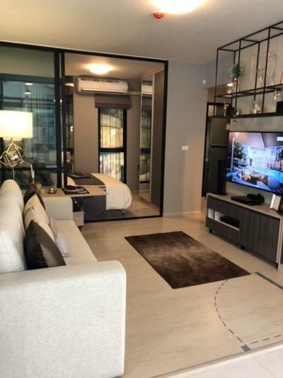 Sale DownCondoBangna, Lasalle, Bearing : Urgent sale, Unio Sukhumvit 72, only 2.09 million, room 27 sq m. wide, with furniture.