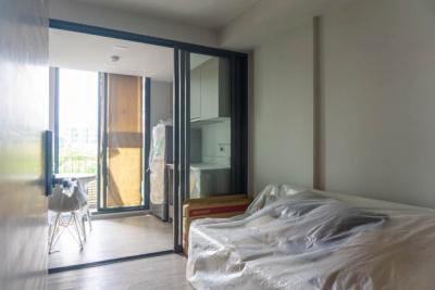 ขายคอนโดราชเทวี พญาไท : SAVVI พหลโยธิน - อารีย์ ห้องใหม่ไม่เคยเข้าอยู่ 1 ห้องนอน 30 ตรม. เฟอร์ครบ ใกล้ BTS อารีย์