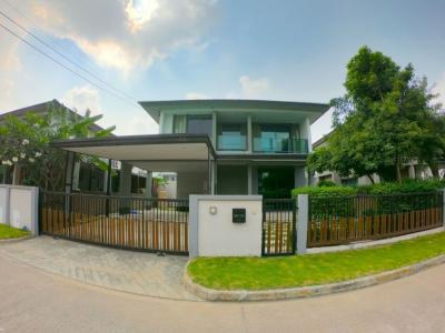 For SaleHouseBangna, Lasalle, Bearing : House for sale, Burasiri, Ring Road, Onnut 3 bedrooms, 3 bathrooms, 68.2 sq.m