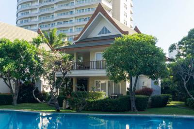 For SaleHousePhetchaburi : Pool Villa for Sale: Baan Talay Samran at Cha-am beachfront, 2 story 3 Bedrooms 3 Bathroom, Foreigner Quota