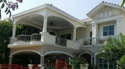 For RentHousePhutthamonthon, Salaya : RH283 2-storey detached house for rent or sale, Image Place Phutthamonthon Sai 4 Village, Samphran District, Nakhon Pathom Province