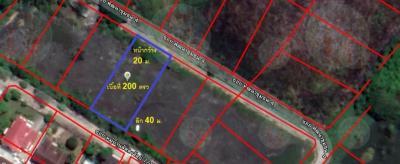 ขายที่ดินสำโรง สมุทรปราการ : ขายที่ดินเปล่า ใกล้ BTS เนื้อที่ 200 ตร.ว. เข้า ซ.ศรีด่าน 22 เพียง 1.5 กม. เข้าออก ถนนศรีนครินทร์ ถนน บางนา-ตราด กม.5