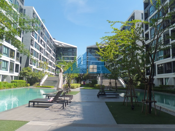 For SaleCondoLadprao 48, Chokchai 4, Ladprao 71 : My Story Condo, Ladprao 71 28.96 sqm., 3rd Floor, Building D, New room, never been ready, Furnished, Good location, Soi Ladprao 71 (Nakniwat), project on the main road, negotiable.