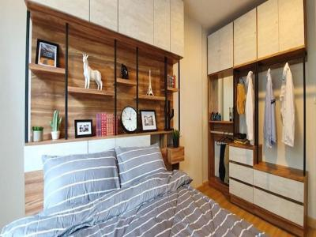 For RentCondoSukhumvit, Asoke, Thonglor : Condo for rent, Voque Sukhumvit 31, size 50 sq.m., 2nd floor, north, furniture and appliances.