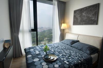 For RentCondoSapankwai,Jatujak : 2 bedrooms, 2 bathrooms, high floor, garden view