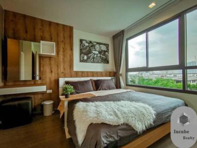 For RentCondoOnnut, Udomsuk : P38CR1909004 Ideo Sukhumvit 93 1 bed 1 bath 34 sqm. 25000 baht