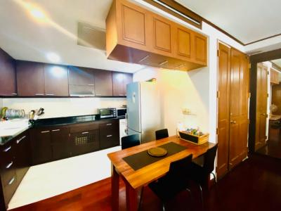 For SaleCondoWitthayu,Ploenchit  ,Langsuan : Baan Thanon Sarasin, Sell @ Loss, 2 BR, 93 sqm, Private & Cozy