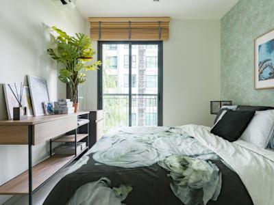 For RentCondoSukhumvit, Asoke, Thonglor : M1197 A luxury condo for rent, Rhythm Sukhumvit 36-38, area 33.3 square meters, 1 bedroom, 1 bathroom, 7th floor.