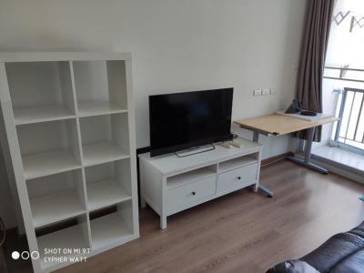 For RentCondoRatchadapisek, Huaikwang, Suttisan : A0706 For rent City Room Ratchada-Suttisan (City Room Ratchada-Suttisan) size 34 sq m, ready to move in * 200 m MRT Sutthisan