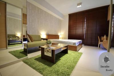 For RentCondoSukhumvit, Asoke, Thonglor : P38CR1908033 studio bed The Lofts Ekkamai 1 bath 28 sqm. 24000 baht