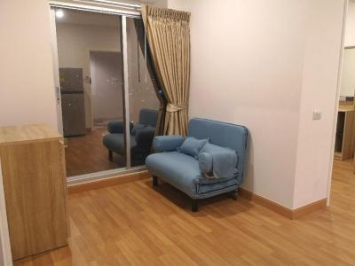 For RentCondoRama3 (Riverside),Satupadit : For rent, Lumpini Place Ratchada-Sathu, new condo near Central Rama 3, pool view AN091