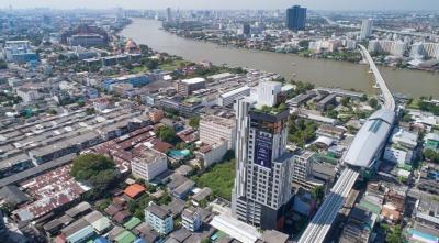 For SaleCondoBang Sue, Wong Sawang : Sell Chewathai Residence, Bang Pho, new room, never lived, Luxury Condo, near BTS Bang Pho, next to the gateway