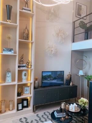 For SaleCondoRama9, RCA, Petchaburi : 👉👉 sell Ideo new rama 9 rooms 1 bed hybrid size 34 sq.m. Price 4,790,000 baht. Interested please contact 0654649497.